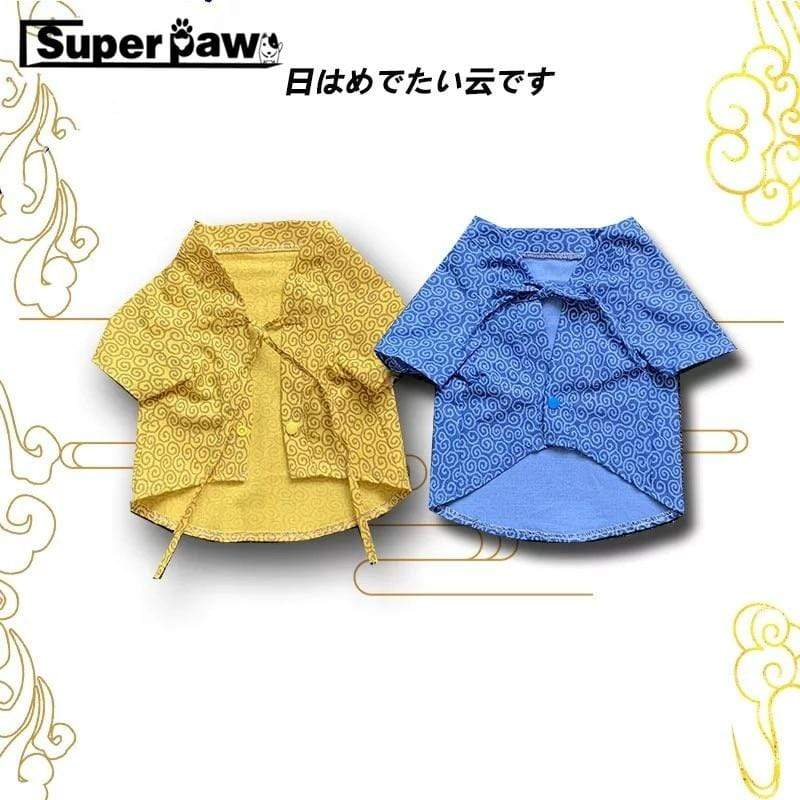 Max and Maci's Store Dog Shirts Fashion Japan Kimono Shirt for Dogs