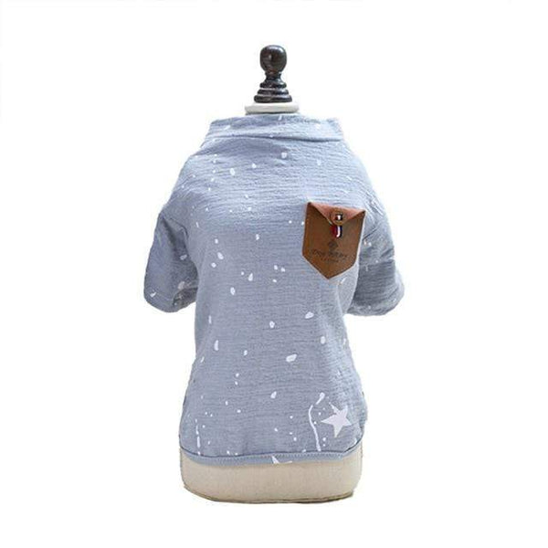 Outdoor Five-Pointed Star Dog Shirt - Max and Maci's Store