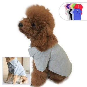 Max and Maci's Store Dog Shirts H / 3XL Spring Summer Pet Cotton Clothes