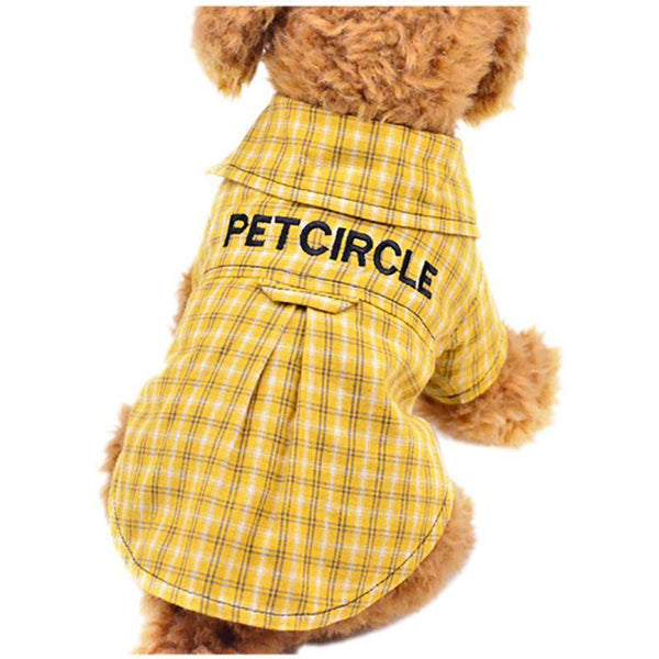 Lovely Home Dog Cat Plaid Clothing - Max and Maci's Store