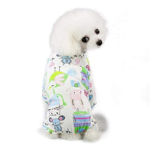 Max and Maci's Store Dog Shirts Mouse / S Cute Print Small Dog Jumpsuits