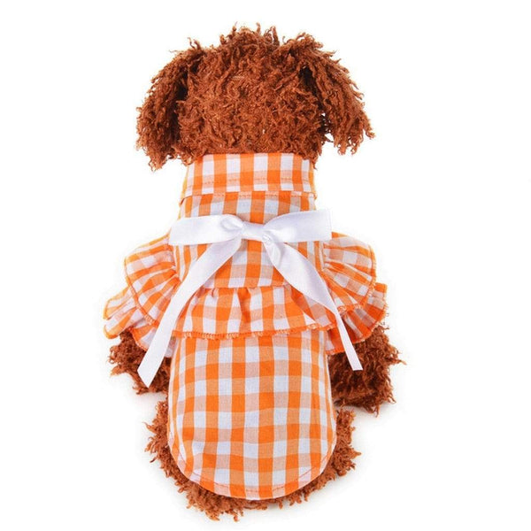Outdoor Plaid Breathable Dog Shirt - Max and Maci's Store