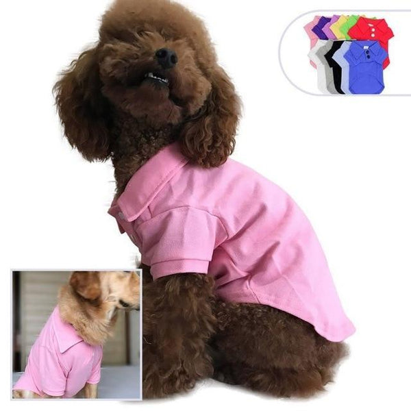Spring Summer Pet Cotton Clothes - Max and Maci's Store