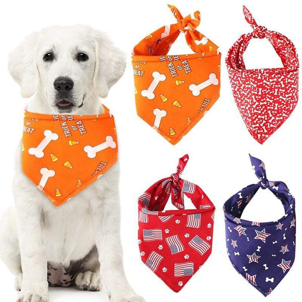 Max and Maci's Store Dog Shirts Pattern Pet Bandana Scarf T-riangle Bibs