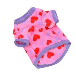 Max and Maci's Store Dog Shirts Pink / L Heart Pentagram Printed Vest Ventilation Pet T-Shirts