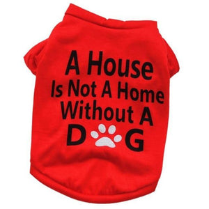 Max and Maci's Store Dog Shirts Red / S Pet Puppy Summer Vest Small Dog