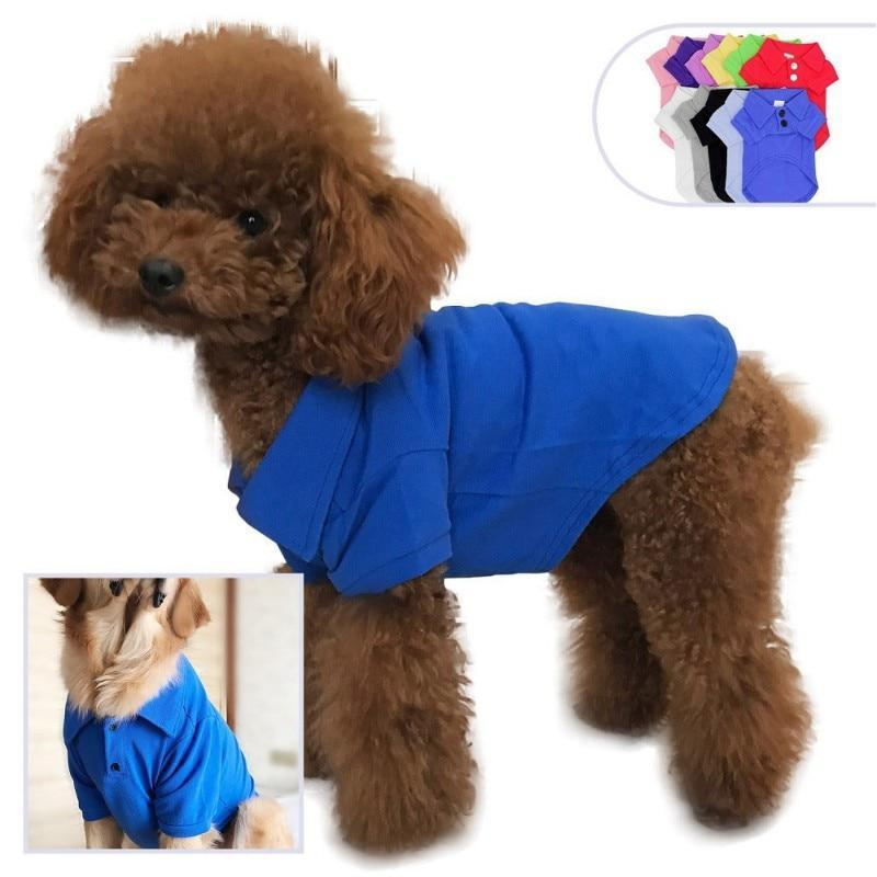 Max and Maci's Store Dog Shirts Spring Summer Pet Cotton Clothes