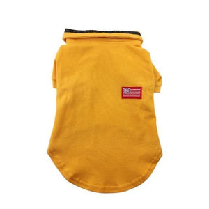 Max and Maci's Store Dog Shirts Yellow / XXL Pet Puppy Dog Vest Shirt