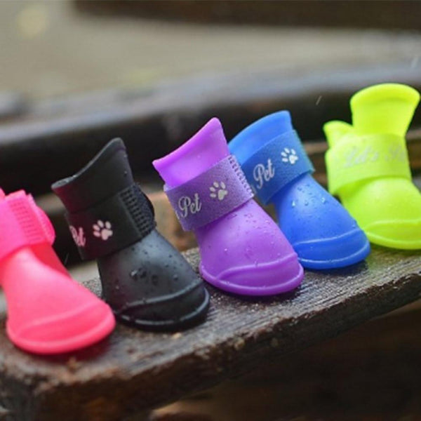 2Pcs/Set Dog Waterproof Rain Pet Shoes - Max and Maci's Store