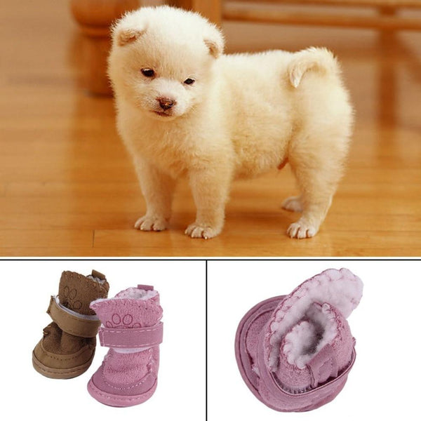 New Fashion 2 Colors Dog Shoes Snow Boots - Max and Maci's Store