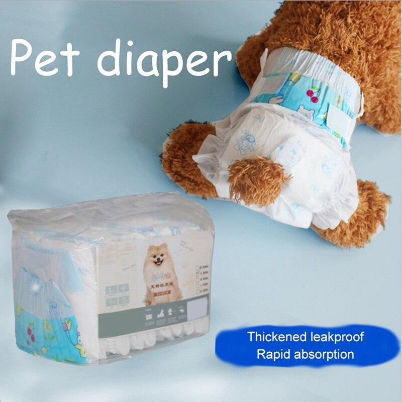 Max and Maci's Store Dog Shorts 10 Pcs/lot White Disposable Dog Diapers-