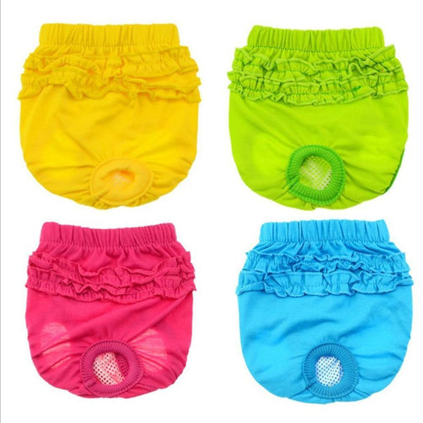 Dog Diaper Sanitary Physiological Washable Pants - Max and Maci's Store