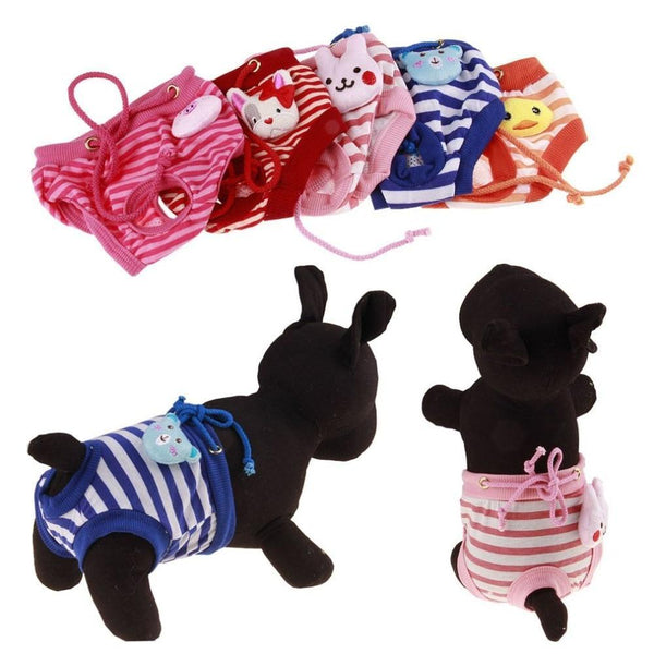Print Dog Panties Dog Underwear Diapers Physiological Pants - Max and Maci's Store