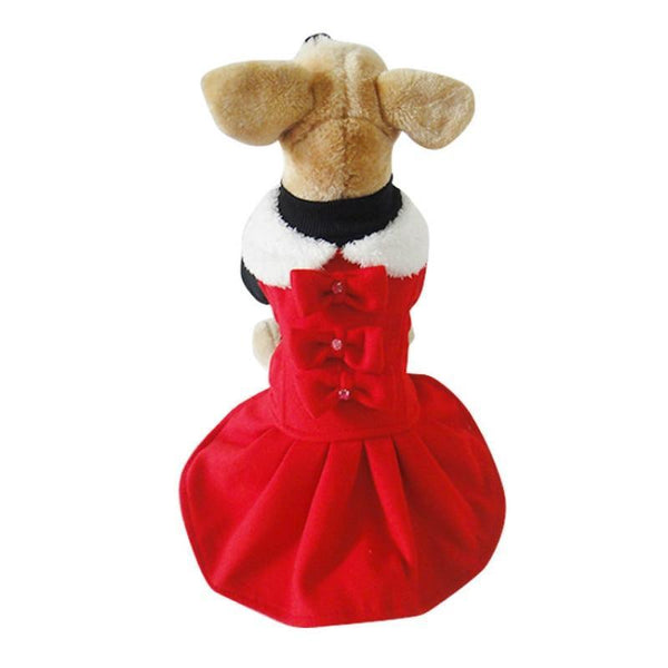 Autumn And Winter Dog Clothes Skirt - Max and Maci's Store