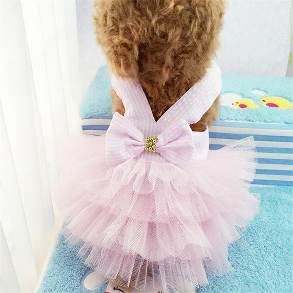 Sweet Bowknot Small Dog Skirt - Max and Maci's Store