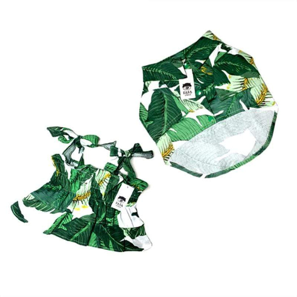 Dogs Outfit Summer Apparel Hawaiian Style Skirts - Max and Maci's Store