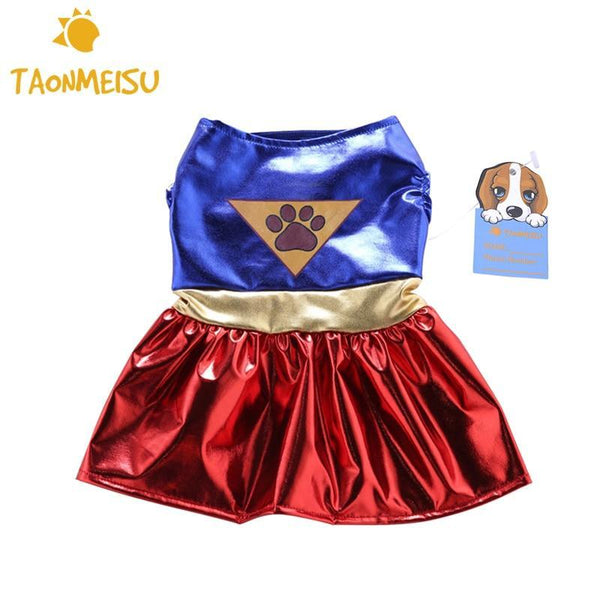 Footprint Festive Dog Skirt - Max and Maci's Store