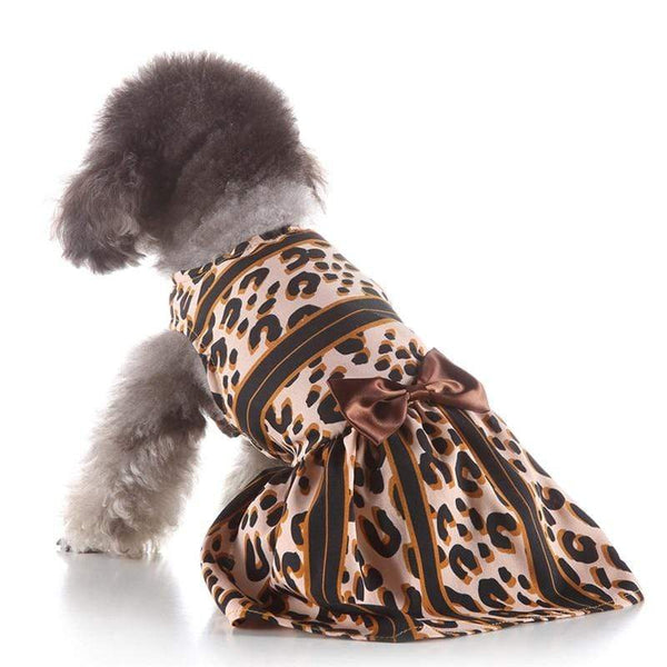 Leopard Sexy Striped Dog Skirt - Max and Maci's Store