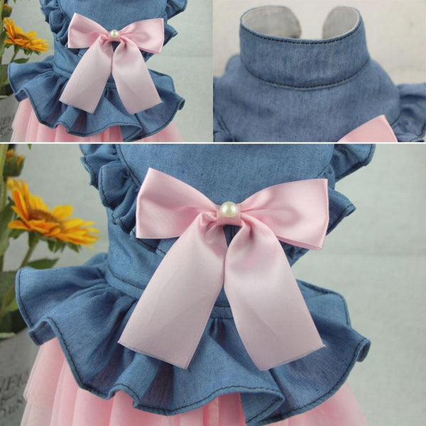 Newly Dog Wedding Puppy Bowknot Dresses - Max and Maci's Store