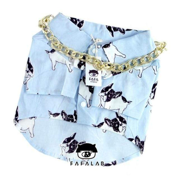 Summer French Bulldog Dog Clothes Fashion Skirts - Max and Maci's Store