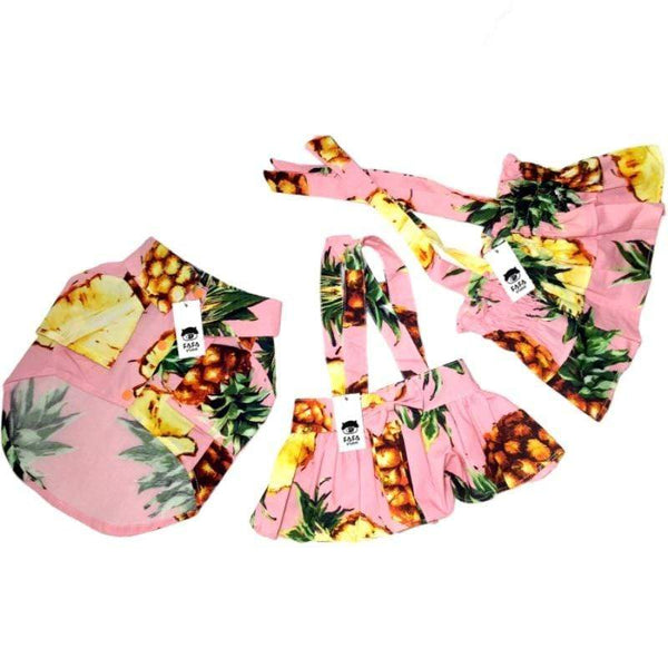 Summer Fashion Pineapple Hawaii Style Skirts For Dog - Max and Maci's Store
