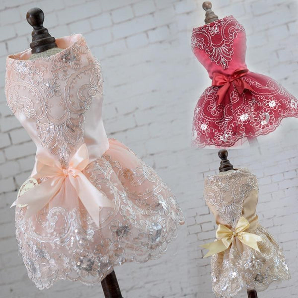 Summer New Arrival Dog Rose Flower Gauze Tutu Skirt - Max and Maci's Store