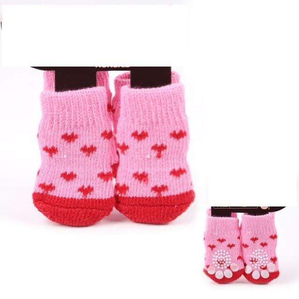 Lovely Pet  Antiskid Teddy Dog Socks - Max and Maci's Store