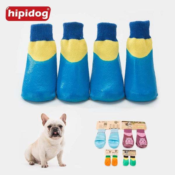 4Pcs/Set Outdoor Waterproof Dog Socks - Max and Maci's Store