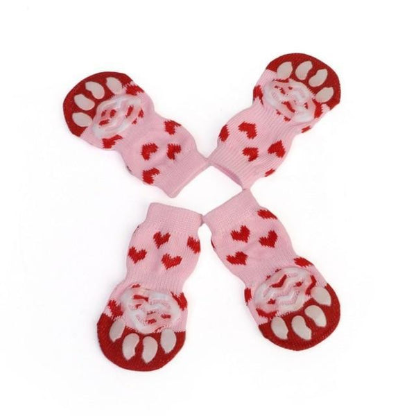 Elastic Warm Anti Slip Claw Paws Dog Socks - Max and Maci's Store