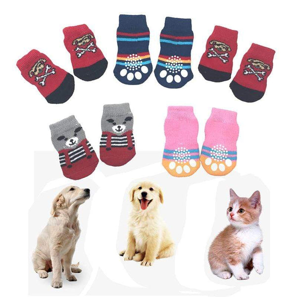 Cotton Cute Durable Practical Lovely Dog Socks - Max and Maci's Store