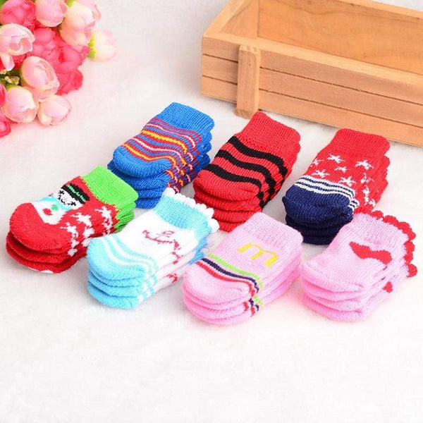 Cute Puppy Dogs Knits Lovely Socks - Max and Maci's Store