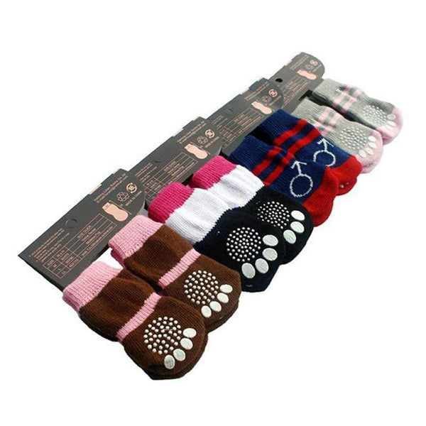 Family Cotton Durable Practical Lovely Dog Socks - Max and Maci's Store