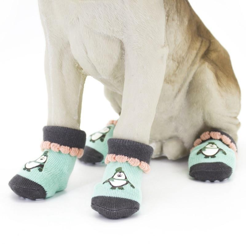 Max and Maci's Store Dog Socks Hot Sell Pet Non-skid Knitted Cotton Socks