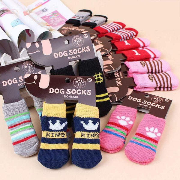 Lovely Fashion 4Pcs Cute Dogs Socks - Max and Maci's Store