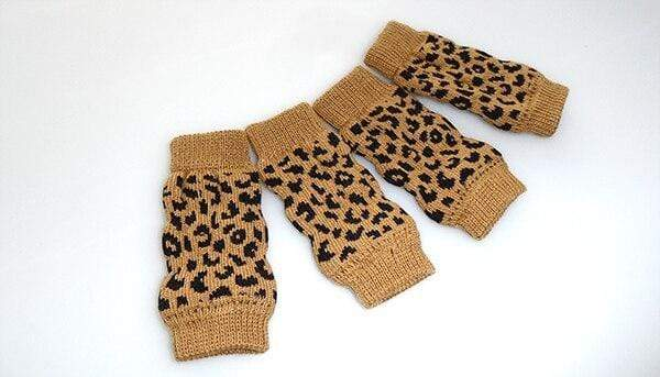 Sleeves Protectors Leopard Print Knee Pad For Dogs - Max and Maci's Store
