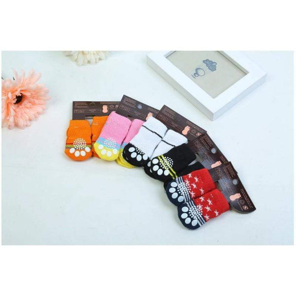 The New Cotton Knitting Wool Dog Socks - Max and Maci's Store