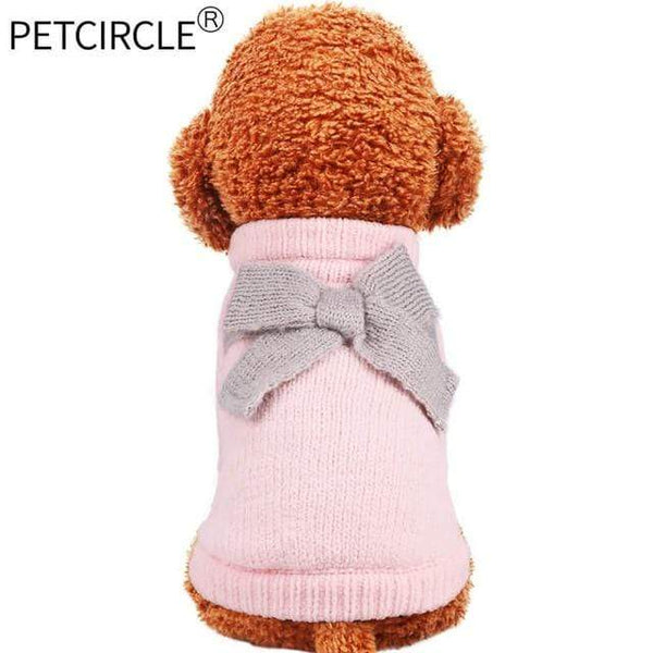 Dog Teddy Pomeranian French Bulldog Sweater - Max and Maci's Store