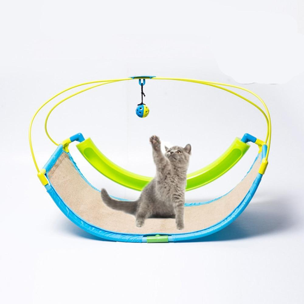 Prime 2 In 1 Toy Pet Exercise Cradle Bed Sofa With Ball Short Links Chair Design For Home Short Linksinfo