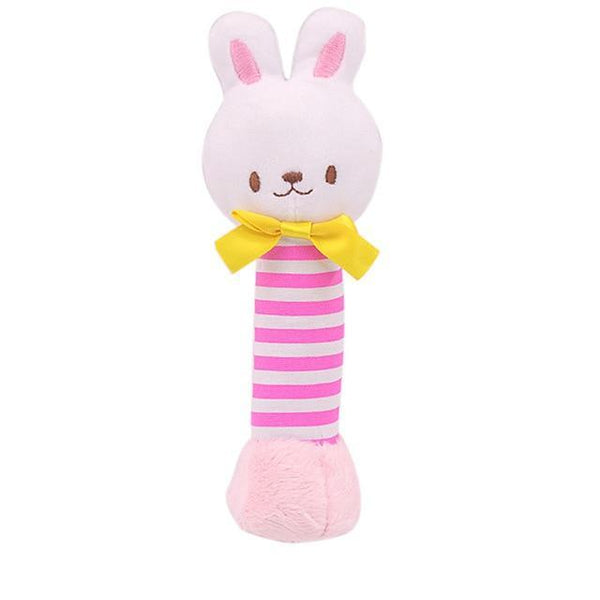 Max and Maci's Store Dog Toys A / 19X5cm Squeaky Animals Rabbit Plush Dog Toys