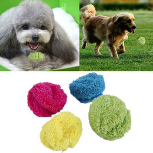 Max and Maci's Store Dog Toys As Show / As Show Magic Automatic Ball Chew Plush Floor Clean Toys