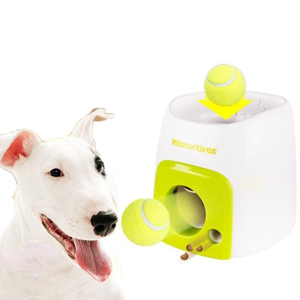Automatic Train Throwing Machine Tennis Ball Dog Toys - Max and Maci's Store