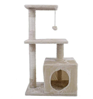 Max and Maci's Store Dog Toys AWJ0420Beige / M Cat Furniture Playing For Fun