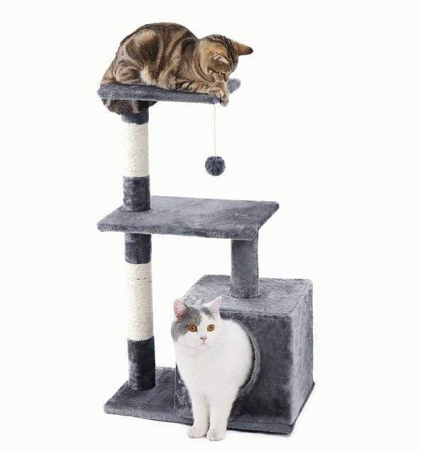 Max and Maci's Store Dog Toys AWJ0420Grey / M Cat Furniture Playing For Fun