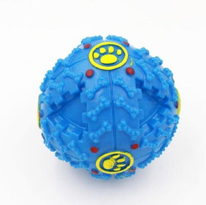 Max and Maci's Store Dog Toys Blue / L Squeaky Giggle Quack Sound Toy Ball