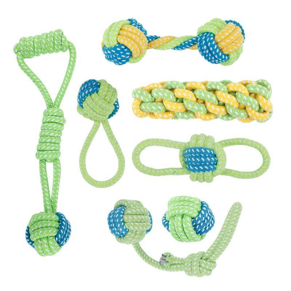 Cotton Rope Knot Dog Toys - Max and Maci's Store