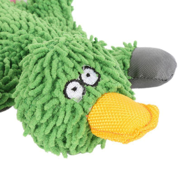 Cute Papa Duck Plush Dog Toy With Rope - Max and Maci's Store