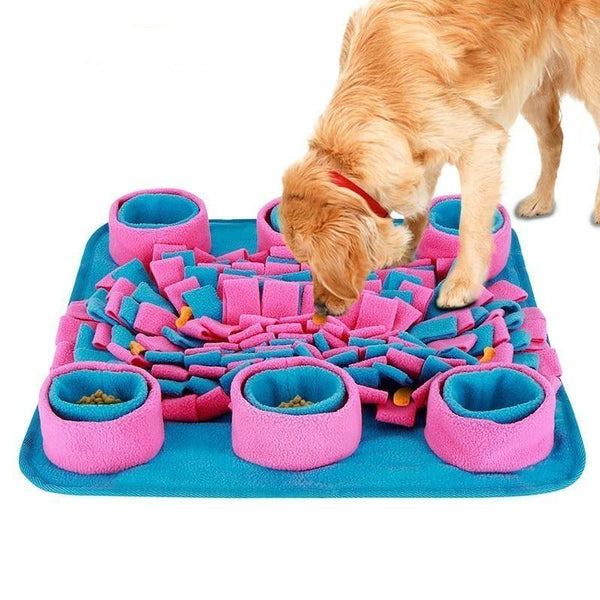Dog Puzzle Interactive Pet Food Dispenser Toys - Max and Maci's Store