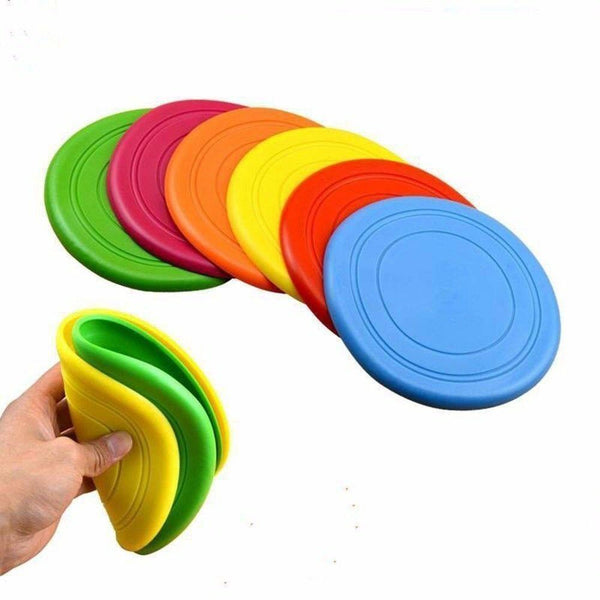 Dogs Flying Discs Silicone Outdoor Toys - Max and Maci's Store