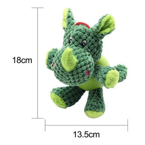 Max and Maci's Store Dog Toys GREEN / L Corduroy Fabric Dog Toys