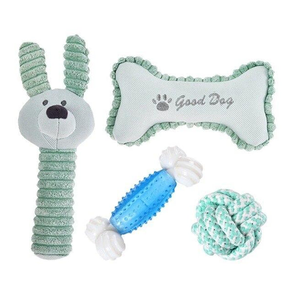 Teeth Cleaning And Pressure Relief Dog Toys - Max and Maci's Store